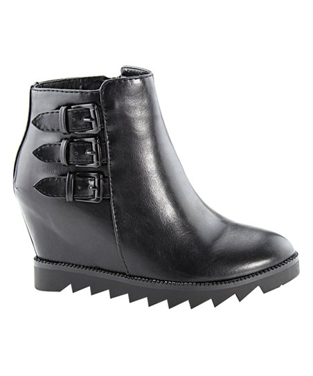 Bella Marie Black Montana Ankle Boot
