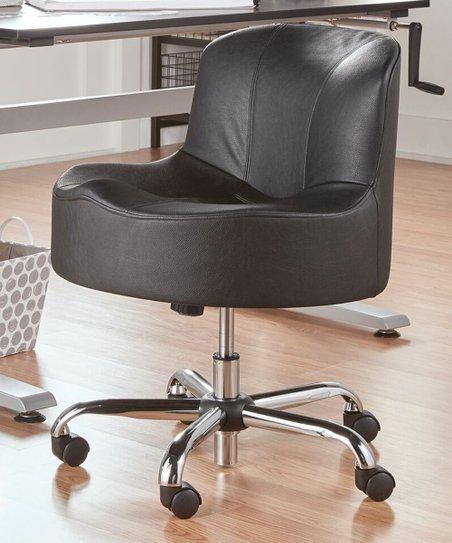 Peachy Homebelle Black Adjustable Swivel Abbott Accent Chair Cjindustries Chair Design For Home Cjindustriesco