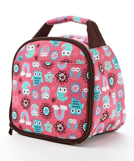 32aa7df7ec2e Fit & Fresh® Rainbow Owl Gabby Insulated Lunch Bag