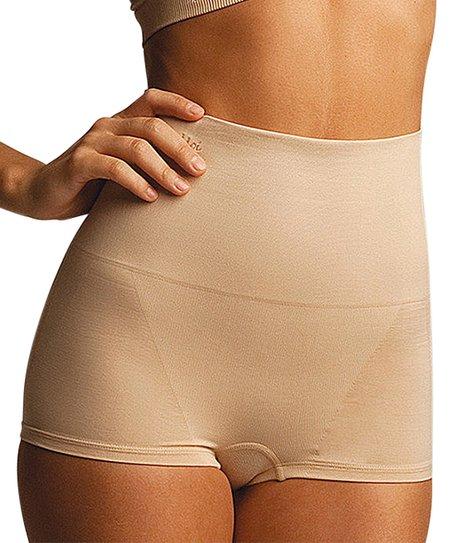 0d0b5d433d love this product Nude Firm Compression High-Waist Shaper Boyshorts - Women    Plus
