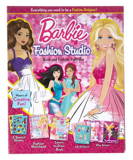 Barbie Fashion Studio Activity Set Best Price And Reviews Zulily