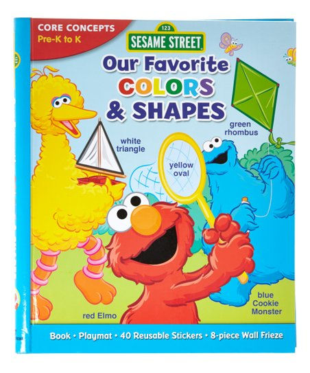 Sesame Street Sesame Street Colors and Shapes Workbook