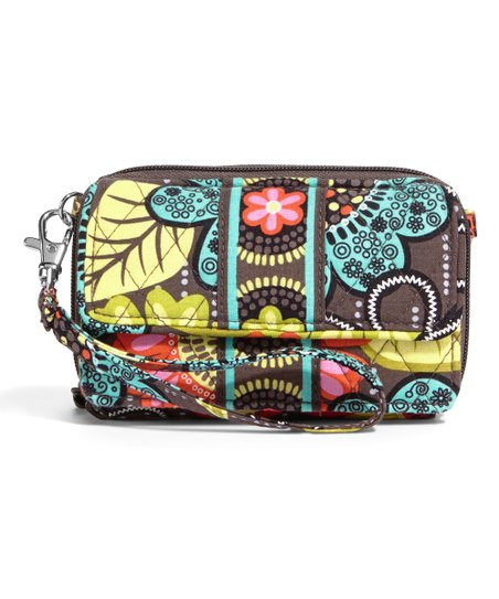 b740f40cb Vera Bradley Flower Shower All-in-One Crossbody Bag | Zulily
