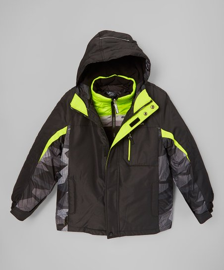 4f63d807cad9f love this product Black   Lime System 3-in-1 Systems Jacket - Boys