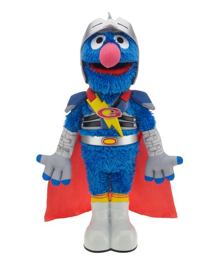 Sesame Street Super Grover Talking Plush Toy