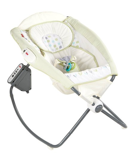 Fisher Price Deluxe Newborn Auto Rock N Play Sleeper Best Price And Reviews Zulily