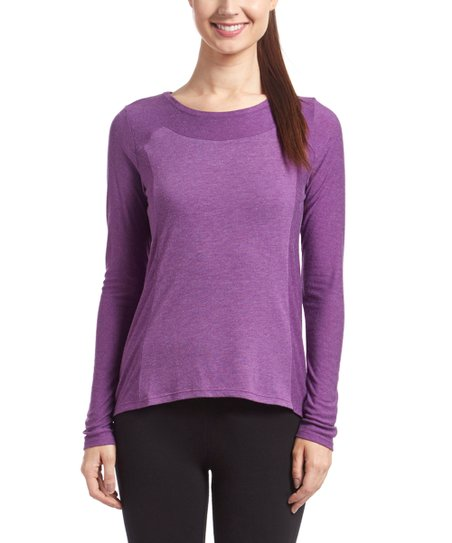4b90f7e8d love this product Purple Orchid Push the Tempo Tee