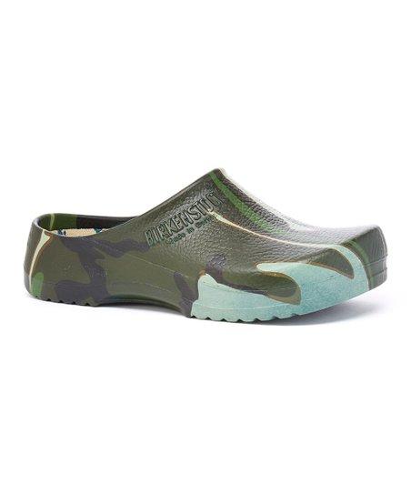 9ed0e169f75691 Birkenstock Green Camo Super Birki Clog