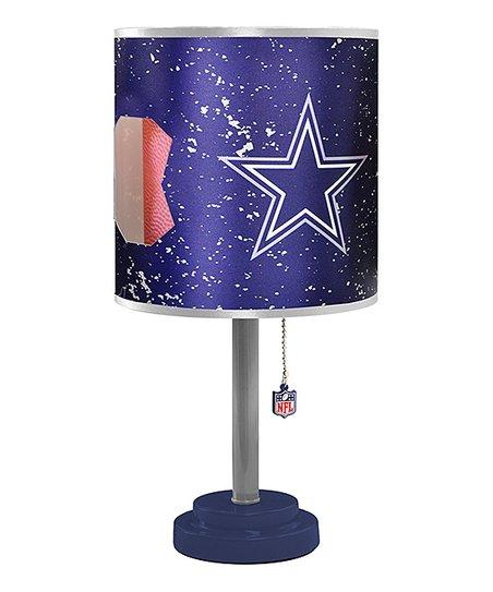 Dallas Cowboys Cut Shade Table Lamp, Dallas Cowboys Lamps