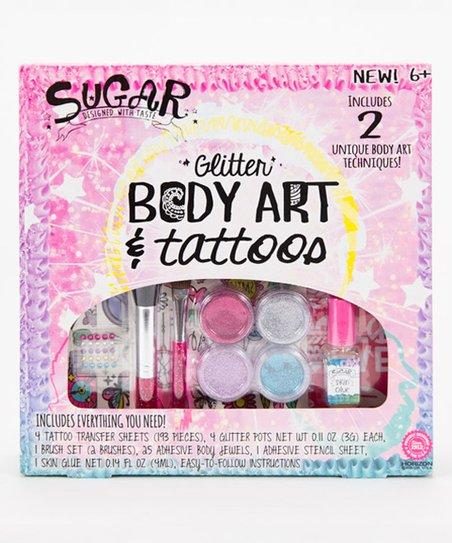 Horizon Group Usa Glitter Body Art Tattoos Craft Kit Best Price And Reviews Zulily