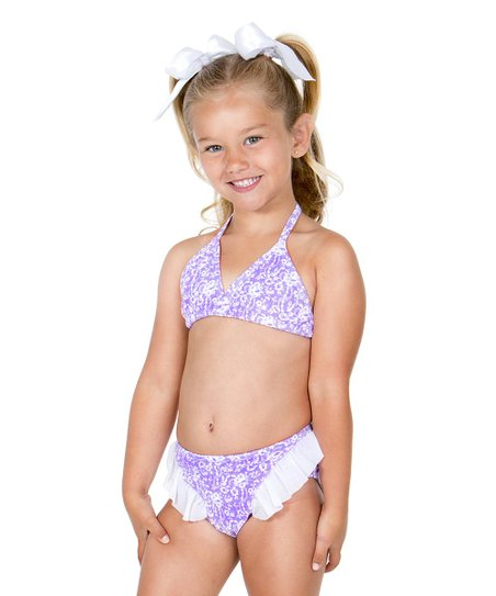 25da351776 Hula Star Purple Sugar Plum Bikini - Toddler & Girls | Zulily
