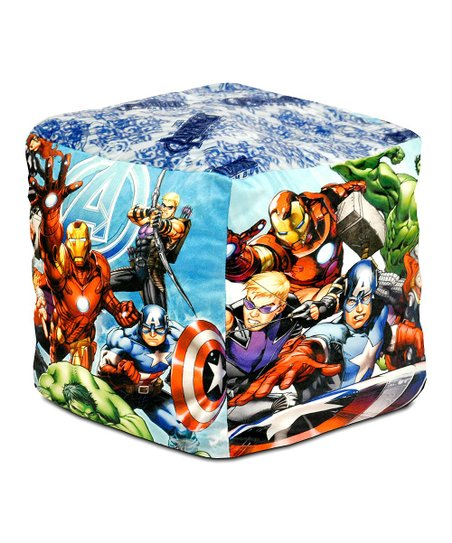 Miraculous Marvel Avengers Cube Bean Pouf Gmtry Best Dining Table And Chair Ideas Images Gmtryco