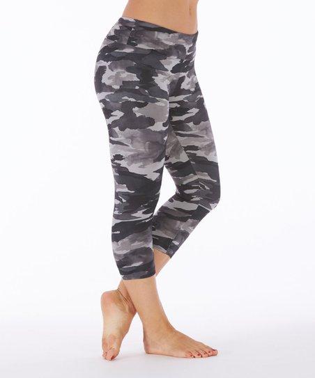 9a78e7e25ed82 love this product Black Camo Capri Leggings