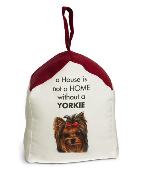 Yorkshire Terrier Door Stop Zulily