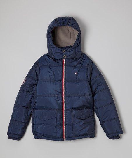 love this product Swim Navy Puffer Jacket - Boys 2853903b3