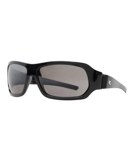 784c8375a6 love this product Shiny Black   Gray Lens Clash Sunglasses