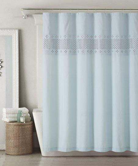 Dusty Rose Sabrina Shower Curtain