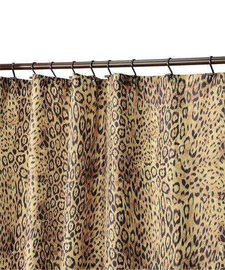 IDesign Cheetah Shower Curtain