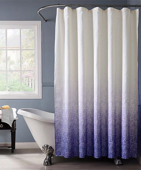 Love This Product Purple Ombre Lace Shower Curtain