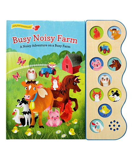 Cottage Door Press Early Bird Sound Busy Noisy Farm 10-Button Board Book