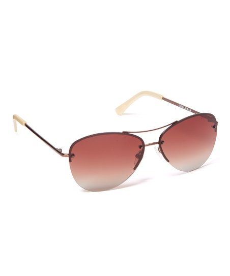 e4f4aff3cf Cole Haan Bronze Polarized Aviator Sunglasses - Women