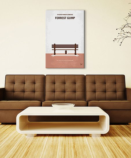 iCanvas 'Forrest Gump' Movie Poster Wrapped Canvas