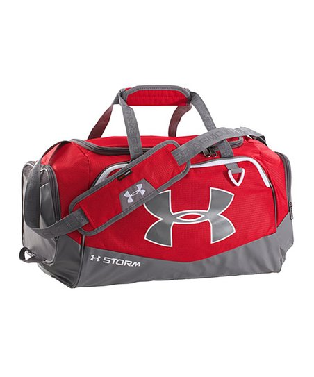 6685920861a Under Armour® Red Undeniable Storm Duffel Bag