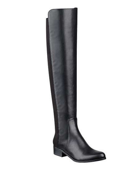 5c647d16ecb UNISA Black Hudy 2 Over-the-Knee Boot