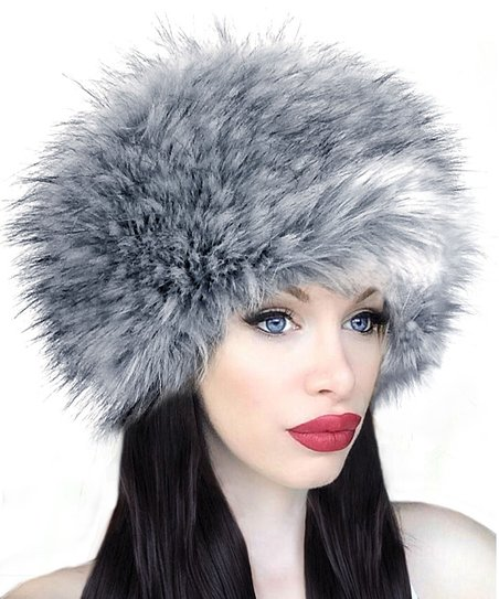 42ebce4522e love this product Silver Fox Faux Fur Hat