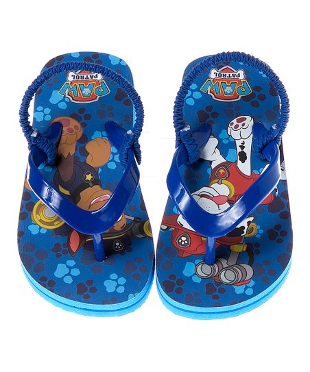 203c18b177f4a love this product PAW Patrol Navy Flip-Flop - Toddler   Boys