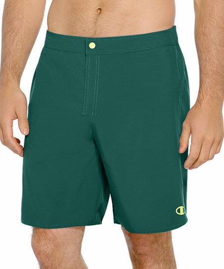 69d3852131416 love this product Taffy Green & Reflector Green Reversible Swim Trunks