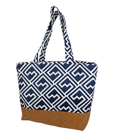 Navy Shakes Lulu Diaper Bag