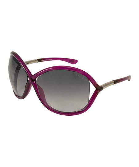 4cb2c886fb Tom Ford Crystal Purple Whitney Oversize Sunglasses