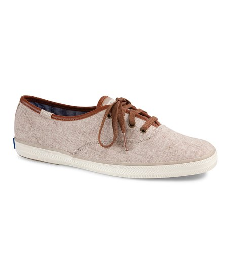 Keds Oatmeal Champion Wool Sneaker