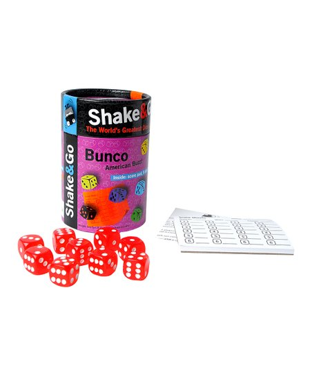 the purple cow shake and go bunco dice game zulily