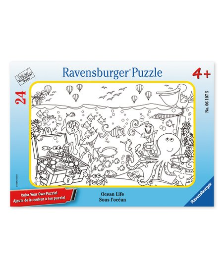 Ravensburger Ocean Life 24 Piece Frame Puzzle Zulily