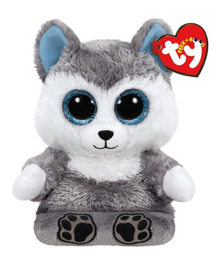 Ty Scout The Husky Peek A Boo Plush Phone Holder Zulily
