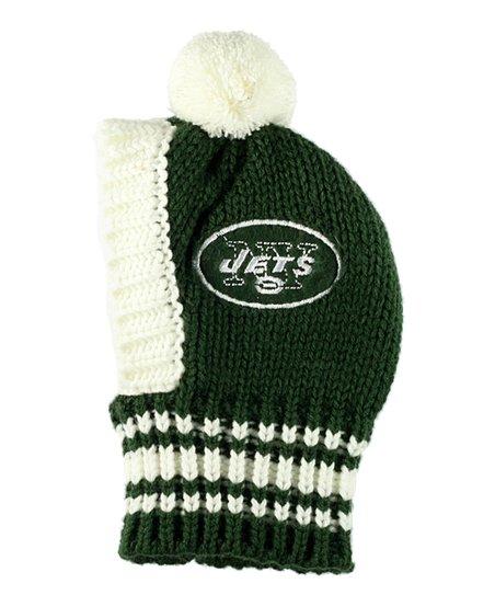 Hip Doggie New York Jets Knit Pet Hat  ecbded5059e