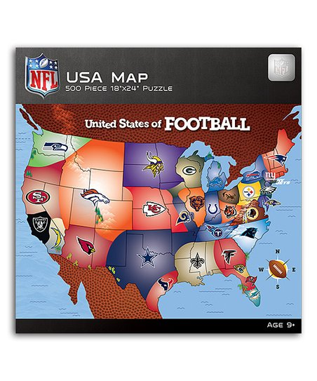 Masterpieces NFL USA Map Puzzle | Zulily