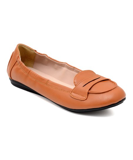 1f428346ee0 love this product Tan Genie Elastic Penny Loafer - Women