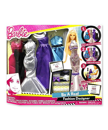 Barbie Be A Real Fashion Designer Craft Kit Best Price And Reviews Zulily