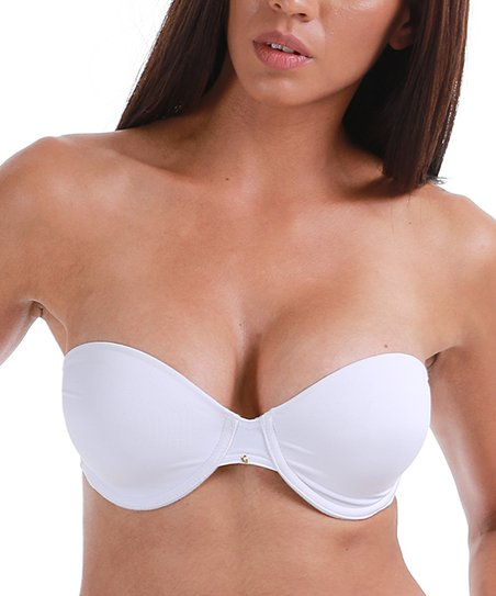 a0828aca1b love this product White   Nude Convertible Strapless Bra Set