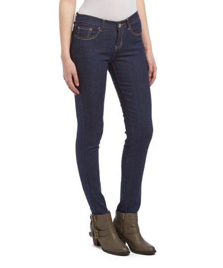 d9dc2baaaf1 Be Girl Clothing Dark Indigo Pocket-Detail Skinny Jeans - Plus Too ...