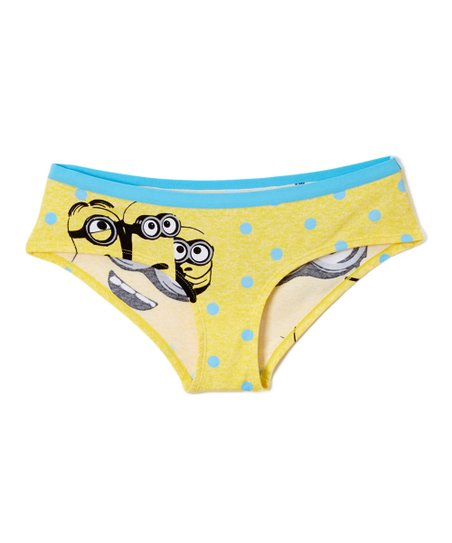 Minion in panties Briefly Stated Minion Hipster Underwear Juniors Best Price And Reviews Zulily