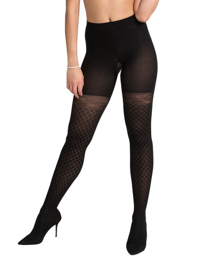 e46713ea63 SPANX® by Sara Blakely Girls Best Friend Tights - Very Black | Zulily