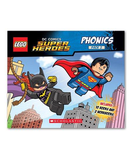 Scholastic Lego Dc Super Heroes Phonics Paperback Set Zulily
