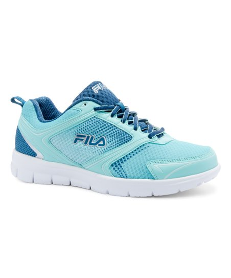 8839933cfcb1 FILA Aqua   Blue Windstar 2 Running Shoe - Women