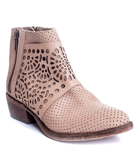 b512545cf99 love this product Natural Raleigh Leather Bootie