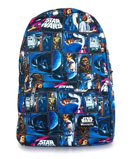 Blue Stars TM School Backpack