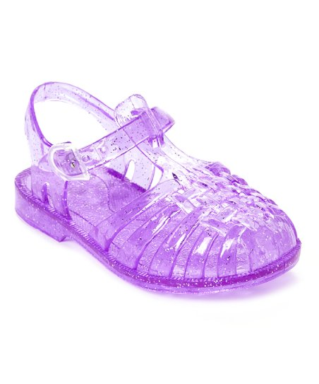 02f419a6772e Chatties Jellies Purple Glitter Jelly Fisherman Sandal